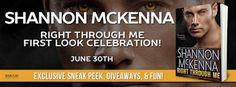 KT Book Reviews: Right Through Me by Shannon McKenna
