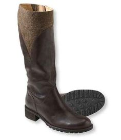 Women's Deerfield Leather Wool Boots
