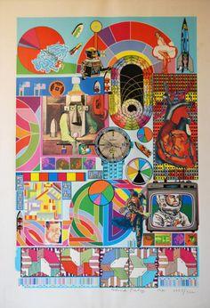B.A.S.H by Eduardo Paolozzi - man was a legend
