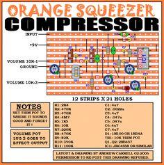 Dan Armstrong Orange Squeezer ! SWEET vintage compressor !