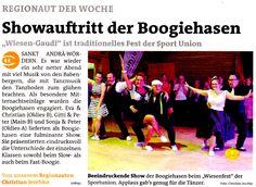 Artikel über die Wies'n Gaudi der Sportunion St Andrä / Wördern in den Bezirkblättern Niederösterreich www.meinbezirk.at www.diebabenberger.at Gaudi, Ballroom Dance Music, Mood, Antoni Gaudi