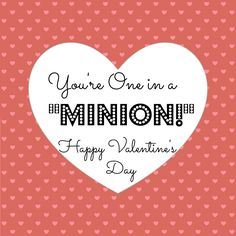 """Despicable Me """"You're One in a Minion"""" Twinkie Valentines Day Craft - Crafty Morning"""
