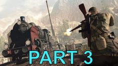 Sniper Elite 4 campaign gameplay walkthrough regilino viaduct PART 3