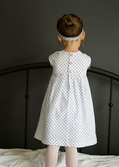 amazing geranium snowflake dress sewn by @Kristin pattern by @Rae Hoekstra