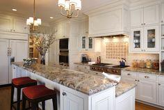Santa Cecilia Gold Granite Countertops For Kitchen  Countertop Mesmerizing Quality Kitchen Cabinets San Francisco Design Ideas