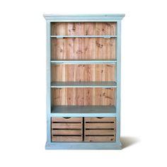 Bookcase Display Cabinet Bookshelves Reclaimed by VintageMillWerks