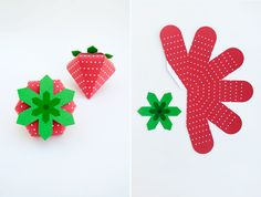 Strawberry treat box // Oh Happy Day