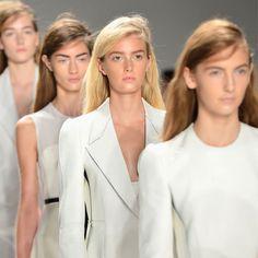calvin klein s/s 2013 runway beauty - Google Search