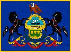 pennsylvania colony flag