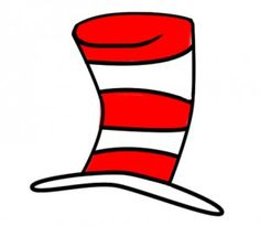 dr seuss hat clipart clipartfest dr seuss pinterest dr rh pinterest com free clipart of dr seuss hat Dr. Seuss Hat Coloring Page
