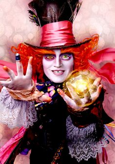 "Johnny Depp as The Mad Hatter in ""Alice Through the Looking Glass"""