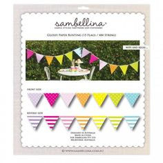 Bring your dream party to life with our selection of quality Rainbow Reversible Party Bunting designed by Sambellina. Paper Bunting, Pop Baby Showers, Dream Party, Party Themes, Stationery, Rainbow, Christmas Ornaments, Holiday Decor, Simple