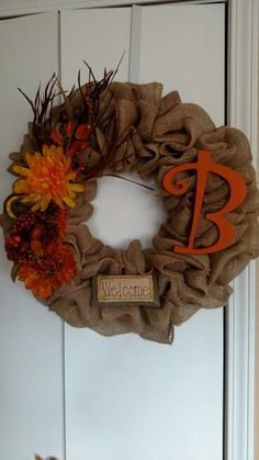 Wreath for my aunt's new house!