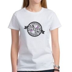 Certified Asexual Stamp Tee on CafePress.com