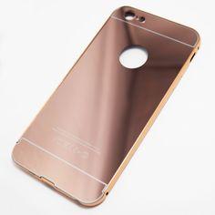 Rose Gold iPhone 6 Plus / iPhone 6S Plus Reflective Mirror Case