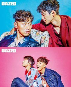 Seo In Guk and Oh Dae Whan for Dazed Korea
