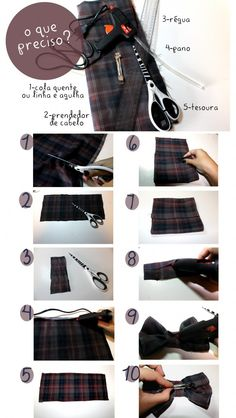 #DIY - Laço de Cabelo #DIY -  bow