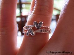 mikkie mouse engagement ring - My Engagement Ring