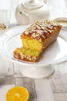 Wondering what to do with that jar of marmalade? This orange and almond cake recipe is so easy and delicious, you'll love it! #mealplanning #recipeideas #almond #cake #loafcake #marmalade #orange #delicious #tasty. View recipe at globescoffers.com