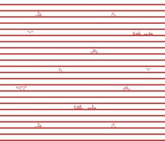 Little_Sailor_red_on_white fabric by un_temps_de_coton on Spoonflower - custom fabric