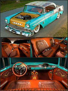 1956 chevy coupe hardtop amazing interior