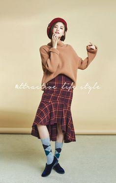 After School Nana - 'SI' 2017 Winter Collection Im Jin Ah Nana, Orange Caramel, Most Beautiful Faces, Korean Celebrities, After School, Mix Match, Winter Collection, Korean Fashion, Actresses