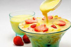Eat Live Grow Paleo: Basics : Custard  1 caja de leche de coco (no en conserva)  - 1/2 taza de jarabe de arce o miel  - 1 cucharadita de vainilla   - 3 yemas de huevo  - 2 sobres de gelatina