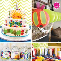 {Party of 5} Patriotic BBQ, Sugar & Spice, Top Chef, Hungry Caterpillar, & Vintage Travel Wedding // Hostess with the Mostess®