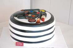 Makeup Celebration Cake Call 043850011 for a #cake consultancy #decorated #cake #oushe #gourmet #bakeshop #delicious #chocolate #vanilla #makeup #make-up #birthday #funky #creative #fun #yummy #dubai #uae www.oushe.com
