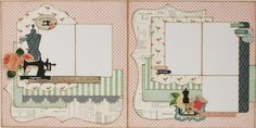 Sew lovely 2 page layout (Medium)