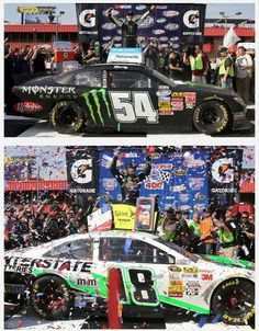 Great weekend for Kyle Busch and Toyota this weekend sweeping both races in Fontana CA. 3/24/13 and 3/25/13