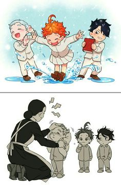 the promised neverland enma Haikyuu Anime, Anime Chibi, Kawaii Anime, Anime Manga, Fanarts Anime, Anime Characters, Terra Do Nunca, I Love Anime, Anime Shows