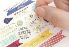 Deco Sticker Ver. 3 - Bonjour Paris Edition