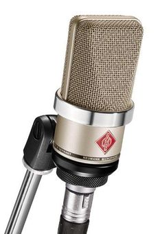 TLM 102 Condenser Cardioid Microphone, 20Hz - 20kHz Frequency Response, 50ohms Impedance, Nickel