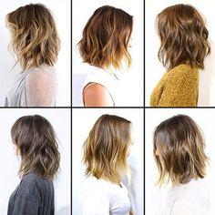 Os cabelos de Anh Co Tran - Os Achados por Bia Perotti Hairstyles Haircuts, Pretty Hairstyles, Pretty Hair Cuts, Medium Hair Styles, Short Hair Styles, Wavy Bob Long, Hair Issues, Hair Falling Out, Great Hair