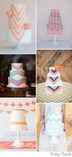 Stand Out from the Crowd – Geometric Wedding Cakes (Fun Cakes Decoration) Beautiful Wedding Cakes, Beautiful Cakes, Amazing Cakes, Geometric Cake, Geometric Wedding, Cute Cakes, Pretty Cakes, Fondant Cakes, Cupcake Cakes