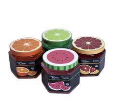 Organic Earth Preserve Packaging Series by Diana Graham, via Behance