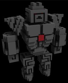 Qubicle, maya, epic games, unreal engine 4, ue4, unreal, unity, voxels, vox, voxel, pixel, art, 3d art, gamedev, game development, indiedev