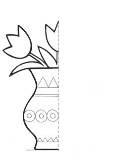 find this pin and more on stuff to buy flower symmetry activity coloring pages for kids - Drawing And Colouring For Kids