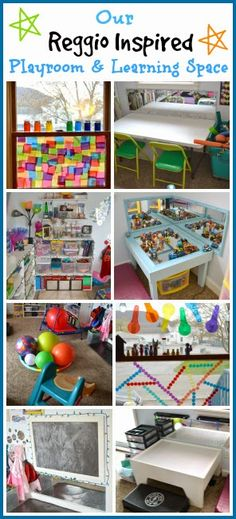 Our Reggio Inspired Playroom & Learning Space from Rainey Day Play