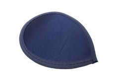 Navy Blue Satin Teardrop Fascinator Millinery Hat Base with Hairclips - Available in 12 Colors