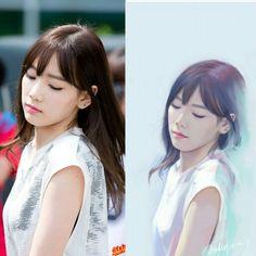 #SNSD #GG #GirlsGeneration #soshi #sone #TySone #FanArt by jellywing ♡♡♡♡♡