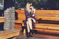 Flannel & Maxi - High End Hippie
