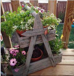 Cute little plant shelf dealy.