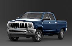 2013 Jeep Honcho Pickup concept