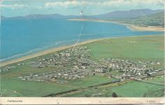 Postcard of Fairbourne in the 80s