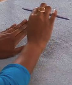 How to manicure your nails when you have no time for a professional manicure? Manicure your nails at home using this video's tips on how to file and shape nails.