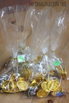 bags of treasure