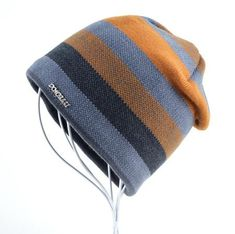 Men's Winter Striped Knitted beanies For Men - White/Red/Yellow/Brown/Blue Skullies & Beanies For Men Men's Fashion 2017 Guys Winter Fashion Casual Menswear Cool Style Gift Knit Products Website Store Shop Buy Sell Sale Online Shopping mens Accessories fall autumn