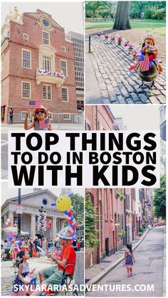 Guide on the top things to do in Boston with kids. I share some tips on how to make the most of your visit! Us Road Trip, Road Trip With Kids, Family Road Trips, Travel With Kids, Family Travel, Boston With Kids, In Boston, Visit Boston, Family Adventure
